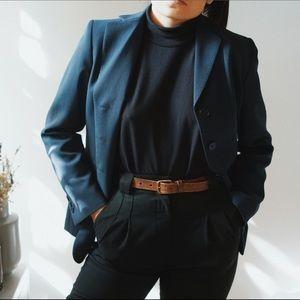 Vintage navy blazer